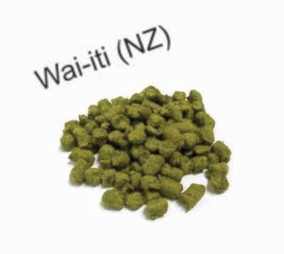 Wai-iti  hops - 100 gram pack