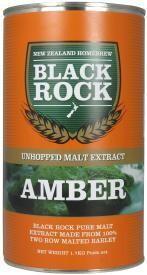 Black Rock Unhopped Amber malt extract