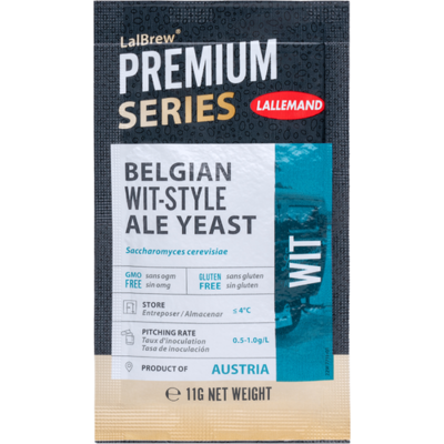 Belgian Wit Style Lallemand yeast ( wheat beer yeast )