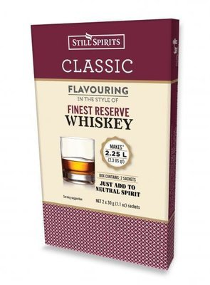 SS Classic Finest Reserve Whiskey Flavouring (2x 1.125L)