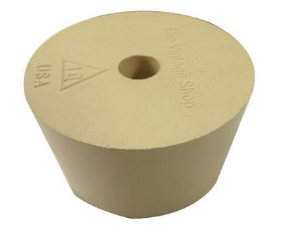 Rubber stopper Bung #10 w/airlock hole (for plastic carbouy)