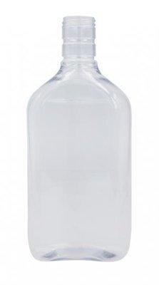 Plastic Spirit hip flask  (single bottle)