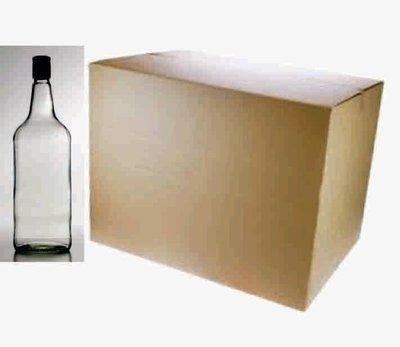1125 Glass Spirit Bottles ** box of 12**
