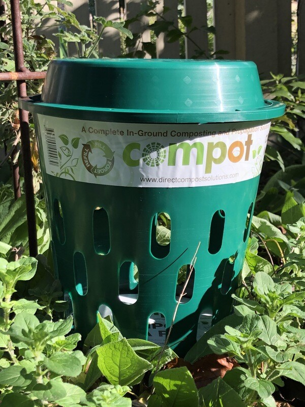 Compot - inground composting unit