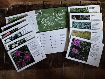 Bonus Pack (Corflute) - 10 Interpretive Bush Tucker Plant ID Signs + 2 Bonus signs