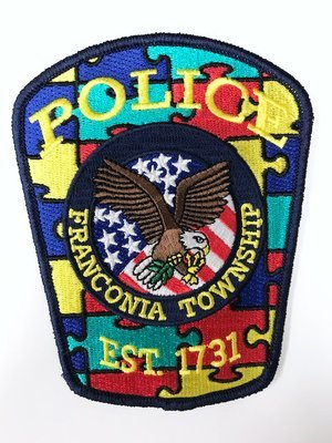 Franconia Township Police Department's Autism Patch
