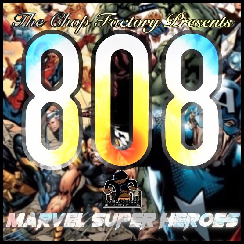 The Chop Factory Presents - 808 Marvel Super Heroes - MPC Expansion Pack