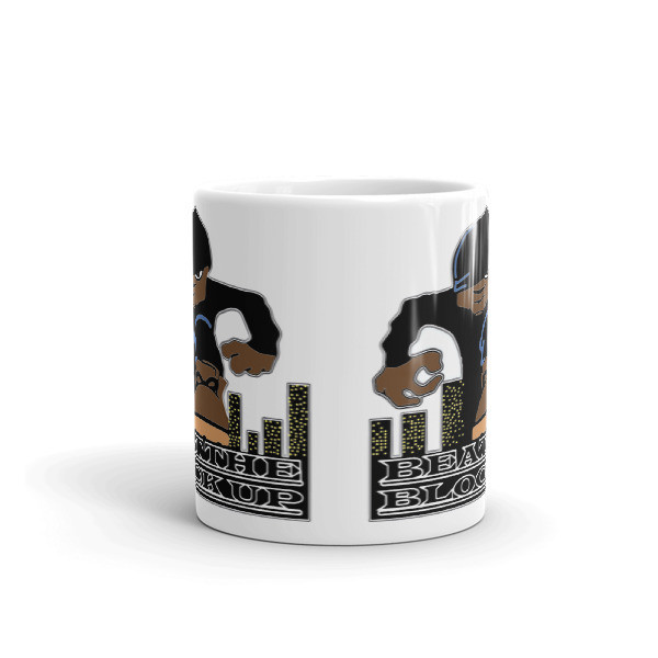 Beat The Block Up Coffee Mug - White