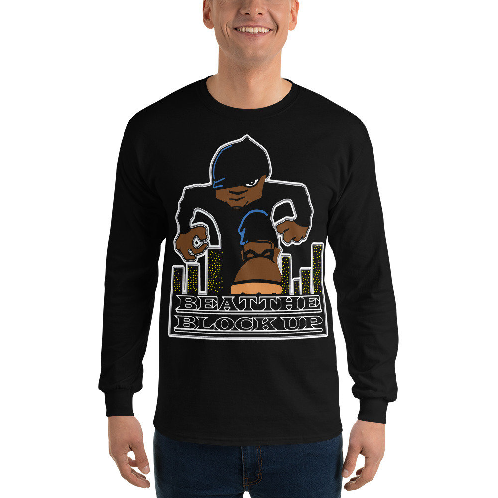 Beat The Block Up Long Sleeve T-Shirt