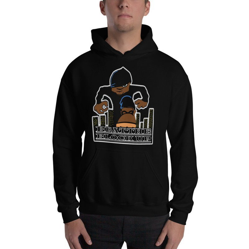 Beat The Block Up Hooded Sweatshirt