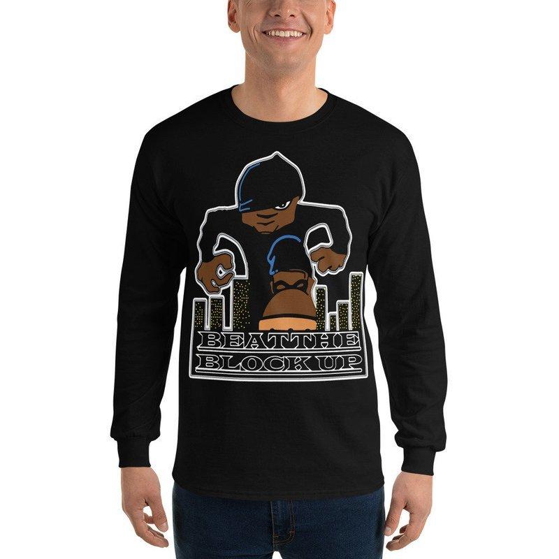 Beat The Block Up Long Sleeve T-Shirt