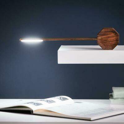 Octagon lampi walnut