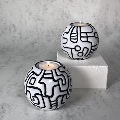 Candela S - TRIBE Black & White