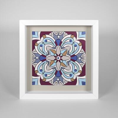 FRAMED - Artwork Mandala