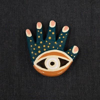 Talisman brooch - HAND