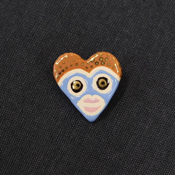 Talisman brooch HEART