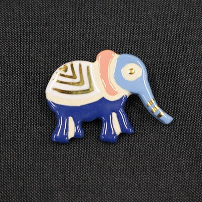 Talisman brooch - ELEPHANT