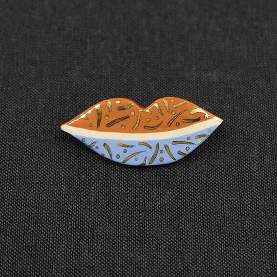Talisman brooch - KISS
