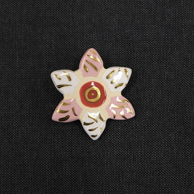 Talisman brooch - FLOWER