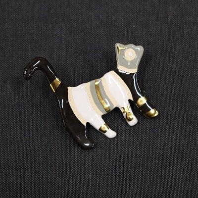 Talisman brooch - CAT