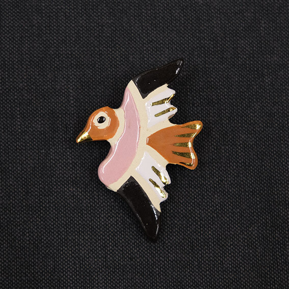Talisman brooch - BIRD