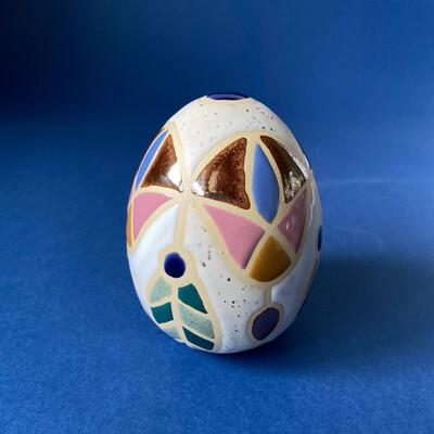 GEOFLOWER stracciatella - fortune egg S