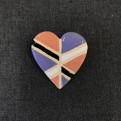 Talisman Brooch - HEART