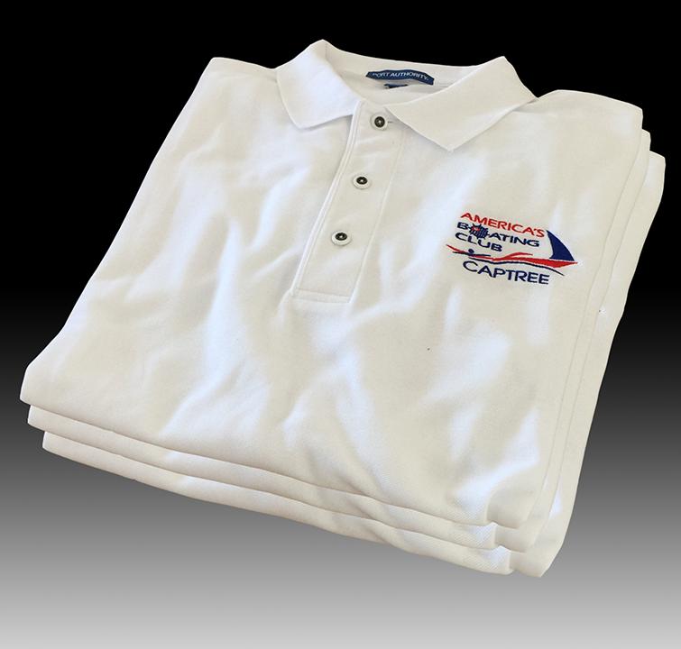 Captree White Sport Shirt
