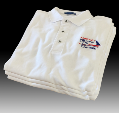 Captree White Sport Shirt