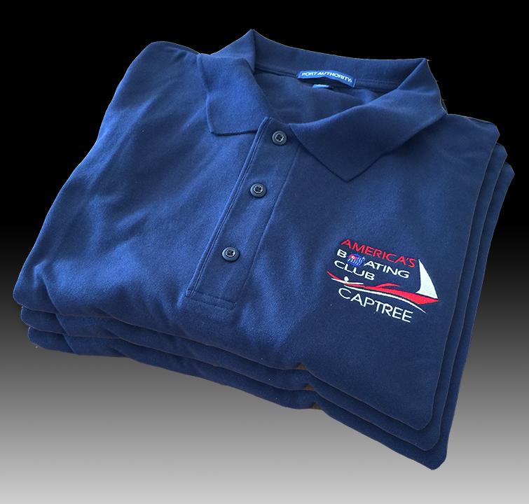 Captree Blue Sport Shirt