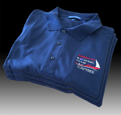Captree Blue Sport Shirt