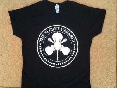The Secret Cabaret Logo T-Shirt - Ladies Black