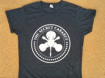 The Secret Cabaret Logo T-Shirt - Ladies Grey