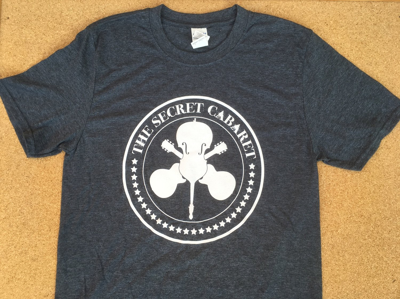The Secret Cabaret Logo T-Shirt - Men's Grey