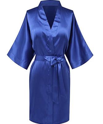 Royal Satin Kimono
