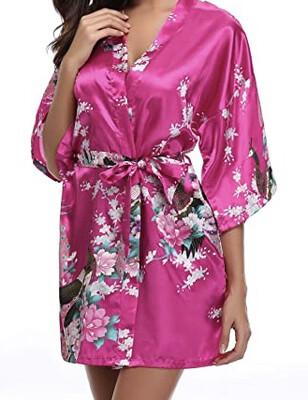 Rose Red Floral Kimono