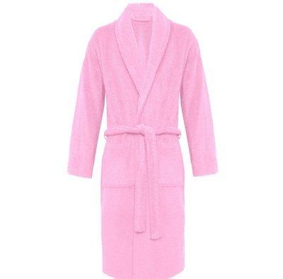 Pink Plush Soft Warm Fleece Unisex Robe
