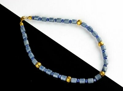Collar precolombino sencillo sodalita dos tonos