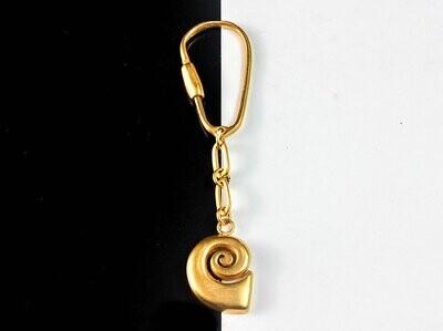 Llavero Precolombino Espiral Simple