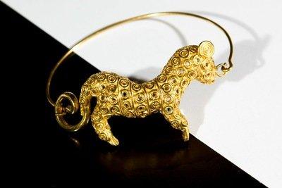 Brazalete Precolombino Con Jaguar