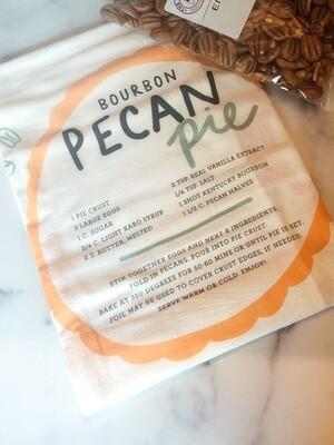 Bourbon Pecan Pie Tea Towel