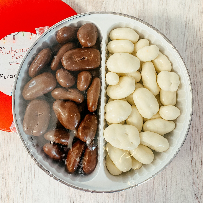 Chocolate Pecan Candy Tin - 2 lbs.