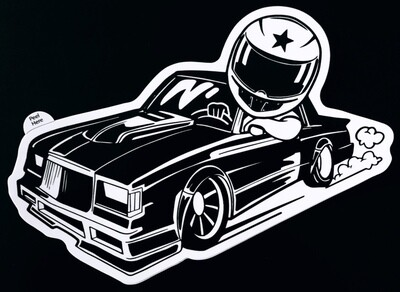 Grand National Decal