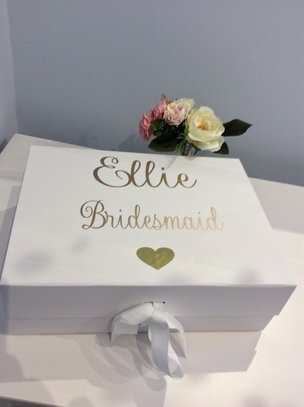 Large Ribbon tied  gift boxes