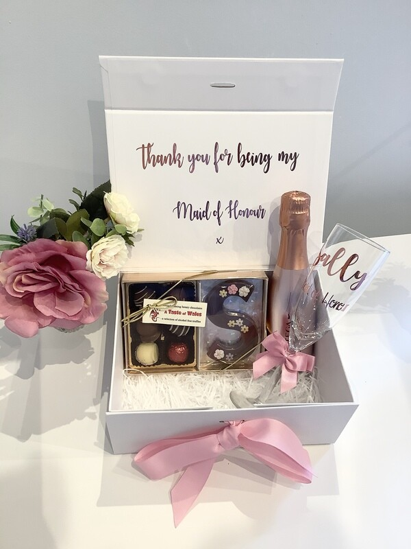 Thank you / will you be my filled gift box