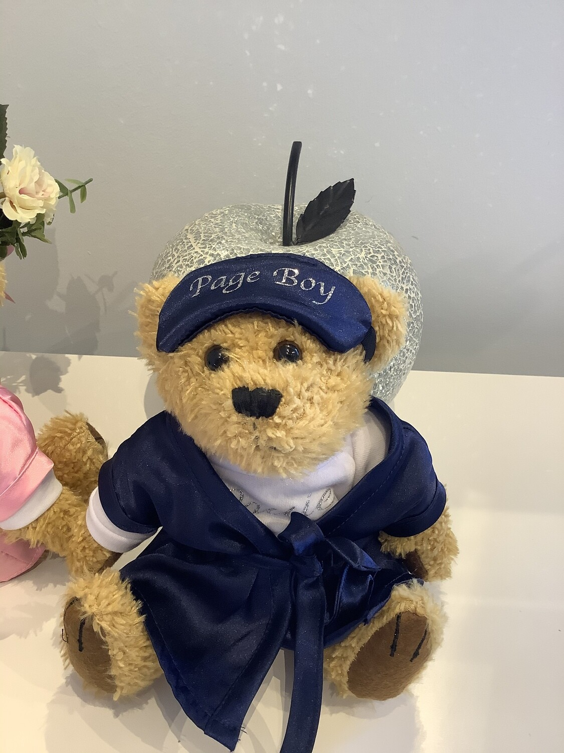 Personalised page boy teddy