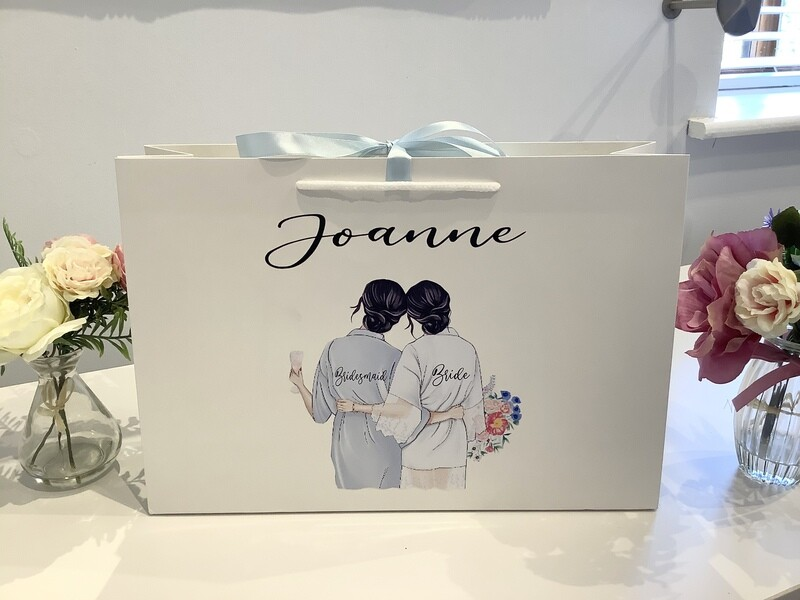 Luxury large  Picture gift bag