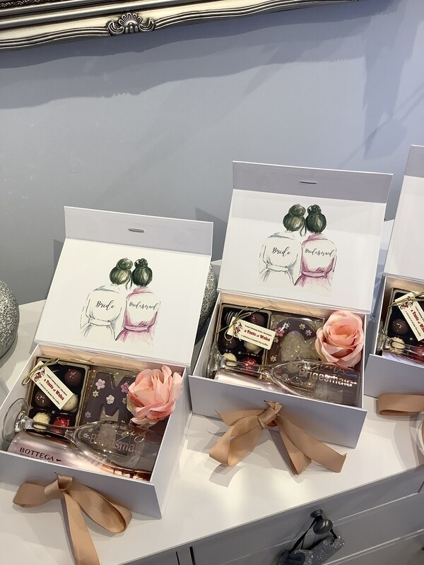 Personalised Filled Thank you gift box