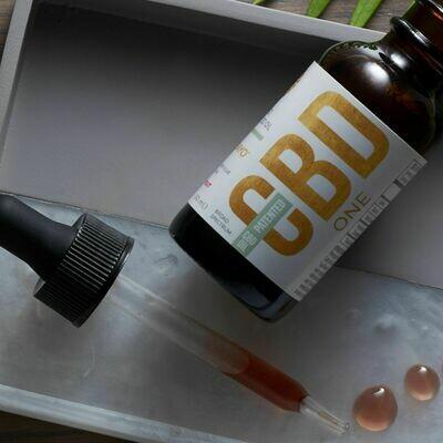 CBD Oil Sample Bottle