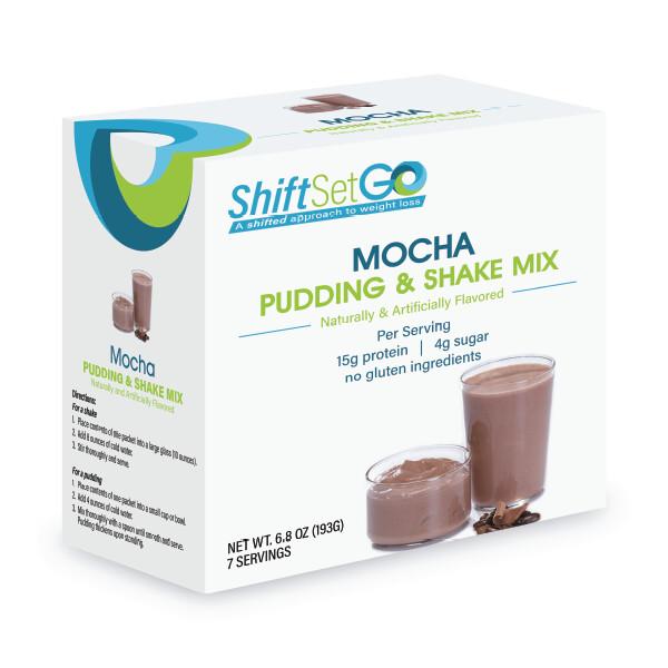 Mocha Cream Pudding / Shake Mix